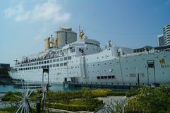 Área escénica del turismo del mundo del mar de Shenzhen Shekou Fotos de archivo libres de regalías