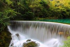 Área escénica del xiaoqikong de Guizhou Libo Imágenes de archivo libres de regalías
