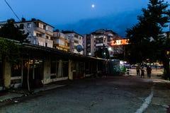 Área espeluznante Desolated cerrada del Funfair - Turquía Foto de archivo libre de regalías