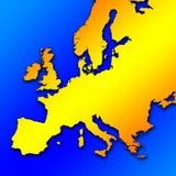 Área européia ilustração royalty free