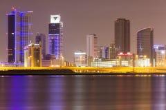 Área financiera de Bahrein Foto de archivo