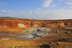 Área Geo-thermal em Islândia Imagens de Stock Royalty Free
