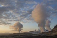 Área geotérmica cerca de Reykjavik Fotos de archivo