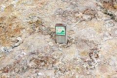 Área geotérmica de Seltun na península de Reykjanes de Icelan do sul Imagem de Stock Royalty Free