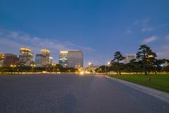 Área imperial del palacio de Tokio Fotos de archivo