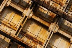 Área industrial Imagen de archivo libre de regalías