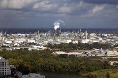 Área industrial de Baton Rouge Imagens de Stock Royalty Free