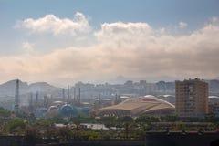 Área industrial de Santa Cruz Fotografia de Stock Royalty Free