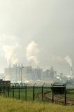 Área industrial holandesa Foto de archivo libre de regalías