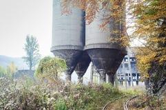 Área industrial velha Imagens de Stock