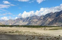 Área lisa nos Himalayas Imagens de Stock Royalty Free