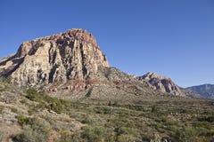 Área nacional da conservação da garganta vermelha da rocha Fotos de Stock