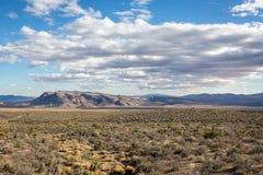 Área nacional da conservação da garganta vermelha da rocha Fotografia de Stock Royalty Free