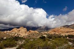 Área nacional de la conservación de la barranca roja de la roca foto de archivo libre de regalías