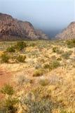 Área nacional de la conservación de la barranca roja de la roca Imagenes de archivo