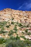 Área nacional de la protección del barranco rojo de la roca Foto de archivo libre de regalías