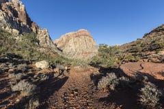 Área nacional de la protección del barranco rojo de la roca en Nevada Fotografía de archivo libre de regalías