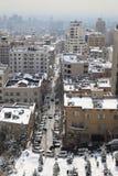 Área norteña de la ciudad de Tehran Fotos de archivo libres de regalías