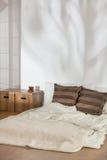 Área para dormir y vivir Fotos de archivo
