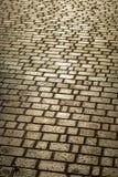 A área pavimentada com pedra Foto de Stock Royalty Free