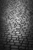 A área pavimentada com pedra Imagem de Stock
