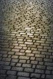 A área pavimentada com pedra Fotos de Stock Royalty Free