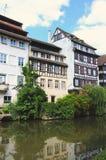 Área pequena de Francia en Estrasburgo imagen de archivo libre de regalías
