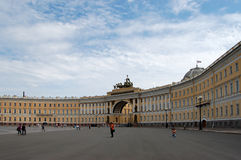 A área principal de St. - Petersburgo imagens de stock royalty free
