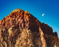 Área recreacional da rocha vermelha Fotografia de Stock Royalty Free