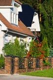 Área residencial foto de stock royalty free