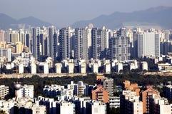 Área residencial Imagem de Stock