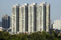 Área residencial chinesa moderna Fotos de Stock Royalty Free
