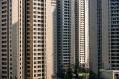 Área residencial da ponte norte de Chongqing Chaotianmen Yangtze River Bridge Imagem de Stock