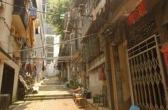 Área residencial de Hong Kong Fotografia de Stock Royalty Free