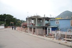 Área residencial de Shek O, Hong Kong Fotografia de Stock