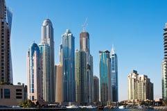 A área residencial do porto de Dubai o 4 de junho Imagens de Stock