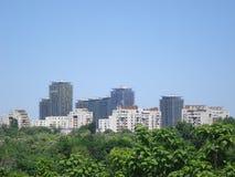 Área residencial em Bucareste Imagem de Stock