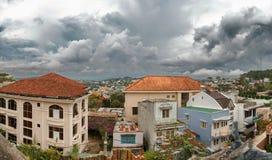 Área residencial em Dalat Imagens de Stock