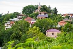 Área residencial em Kutaisi Imagem de Stock Royalty Free