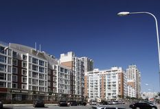 Área residencial moderna. Foto de archivo