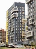 Área residencial moderna Primavera Fotos de archivo