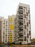 Área residencial nuevamente construida moderna y cómoda Fotografía de archivo libre de regalías