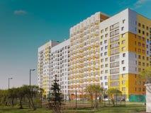 Área residencial nuevamente construida moderna y cómoda Fotos de archivo