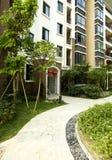 Área residencial verde Fotografia de Stock
