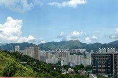 Área residente en Hong Kong Fotografía de archivo libre de regalías