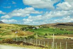 Área rural Foto de Stock Royalty Free