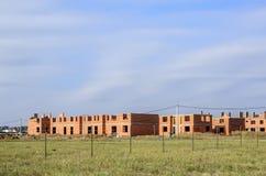 Área suburbana da casa de campo Imagem de Stock