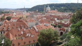 Área suburbana de Praga Imagem de Stock