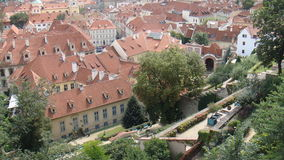 Área suburbana de Praga Fotografia de Stock