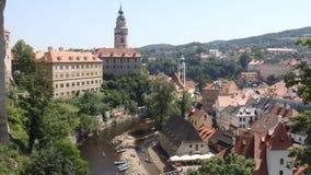 Área suburbana de Praga Imagens de Stock